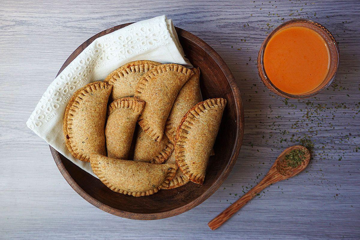 Empanadillas veganas de soja texturizada