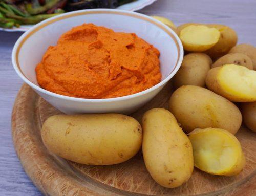 Salsa de tomates secos y pimientos del piquillo