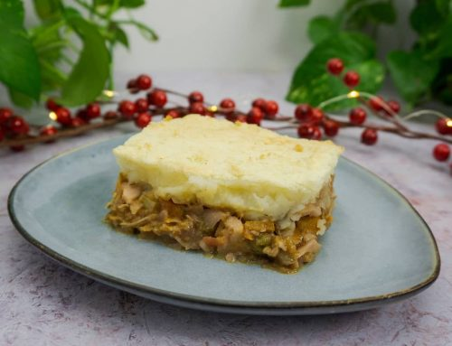 Shepherd's pie o pastel de pastor vegano