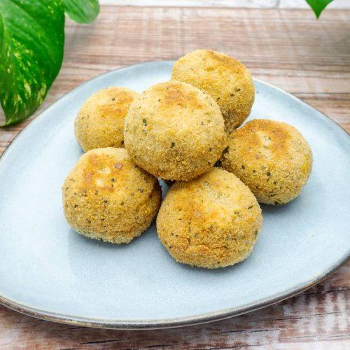 croquetas de zanahoria al curry veganas receta