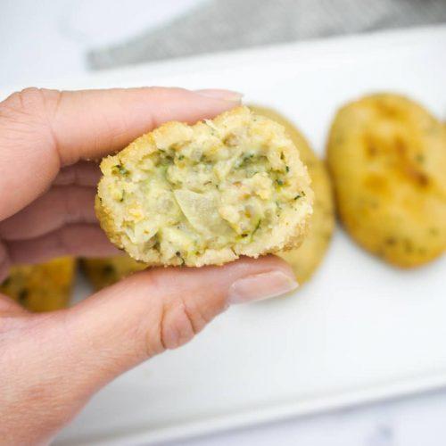 croquetas de calabacín veganas receta