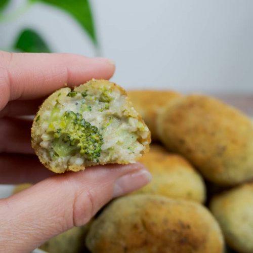 Croquetas de brócoli veganas